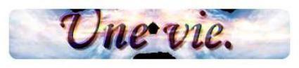 Feuille à Drabble : Une vie. - Original.