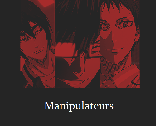 Feuille à Fanfiction : Manipulateurs. - Kuroko no Basket.