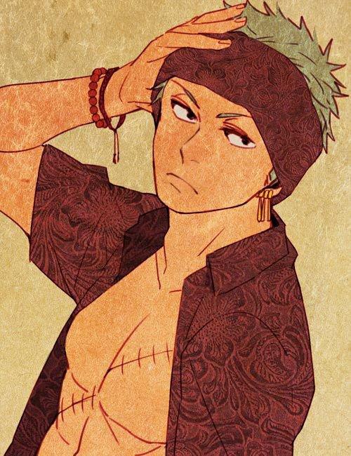 Feuille à One Shot : Crise de jalousie. - One Piece.