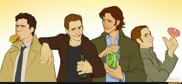 Feuille à One Shot : Team Winchester. - Supernatural.