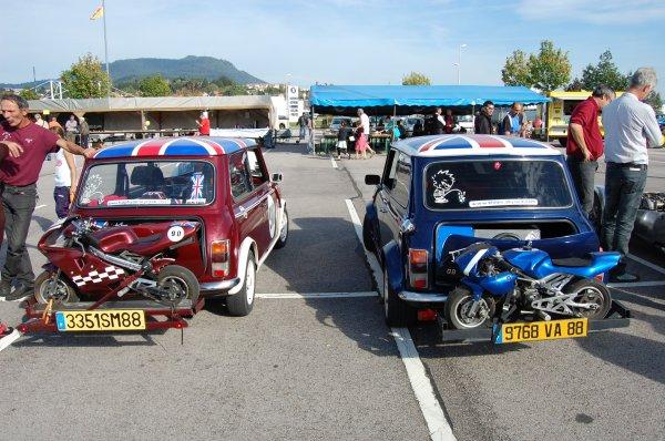 rassemblement auto moto parking leclerc st die