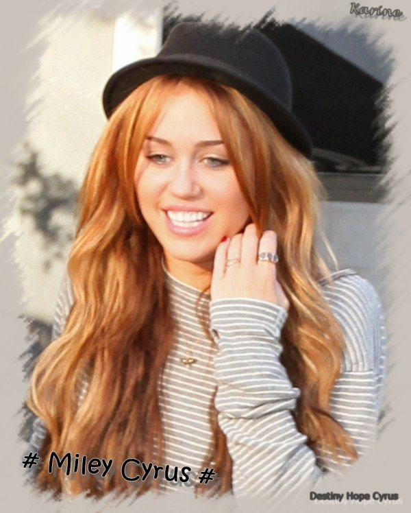 Miley  Destiny Hope Cyrus