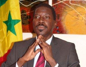Monsieur Talla SYLLA Maire de la ville de THIES SENEGAL
