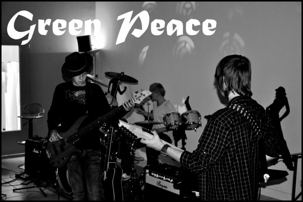 Notre groupe Green Peace ! =D