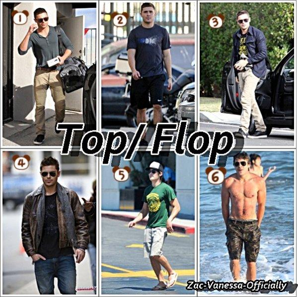 Top/ Flop Zac