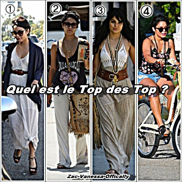 Top Vanessa/Ashley. Juillet 2011