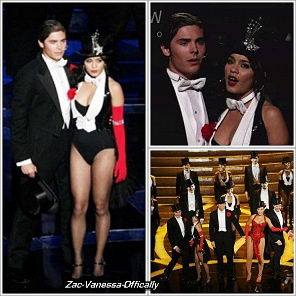 Flach-Back: Zac & Vanessa à la céremonie des 81 Annual Academy Awards. 22 Fervier 2009.