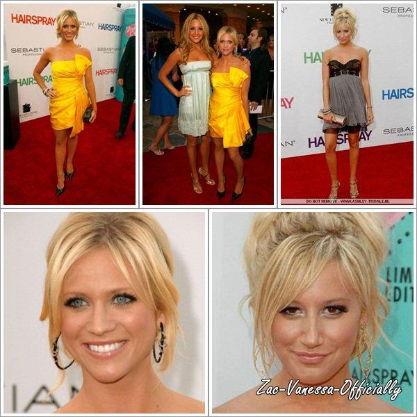 Flach-Back: Premiére de hairspray: 10 Juillet 2007 à Los Angeles