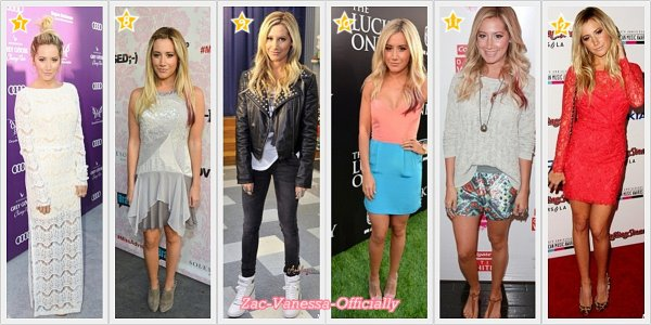 TOP Evénement 2012 Ashley Tisdale ♥