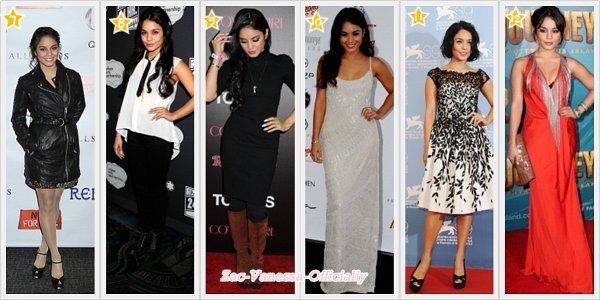 TOP Evénement 2012 Vanessa Hudgens ♥