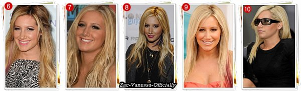 Ashley Tisdale Hair