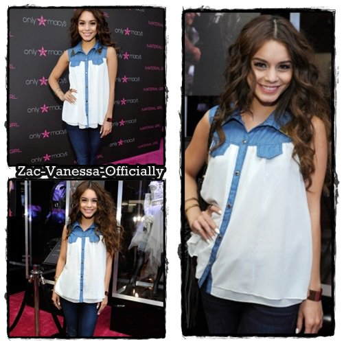 Flach-Back: Vanessa Hudgens: Madonna Fashion Event  25 Avril 2013