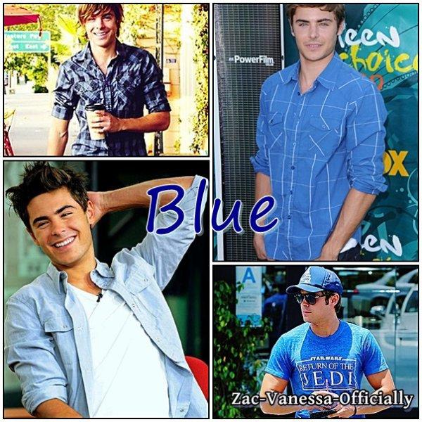 Zac Efron: Blue