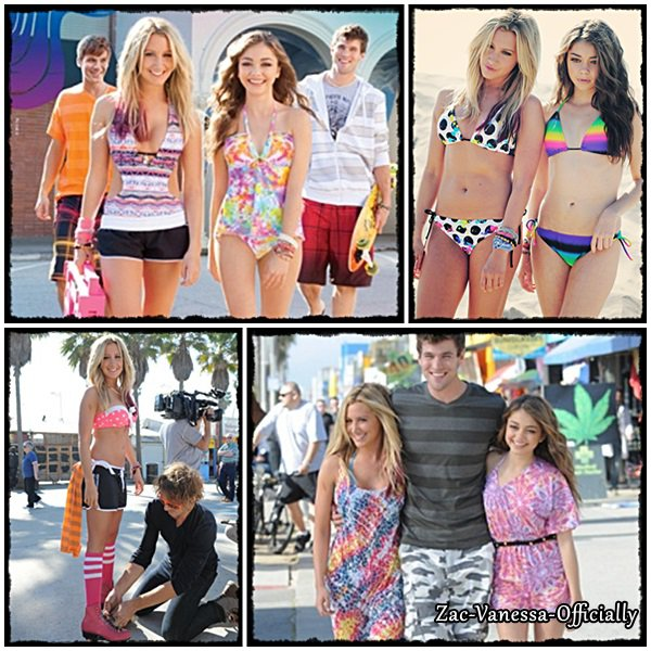 PhotoShoot 2012 Ashley Tisdale & Sarah Hyland pour Op