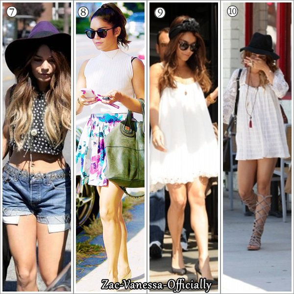 Look Vanessa: TOP été 2013