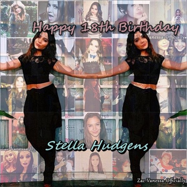 Happy 18th Birthday Stella Teodora Hudgens ♥