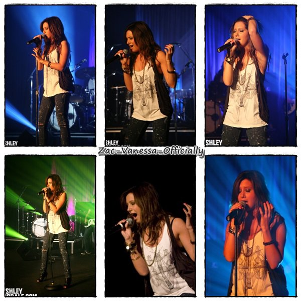 Ashley Tisdale donne un Show Priver pour son album Guilty Pleasure le 05.09.2010