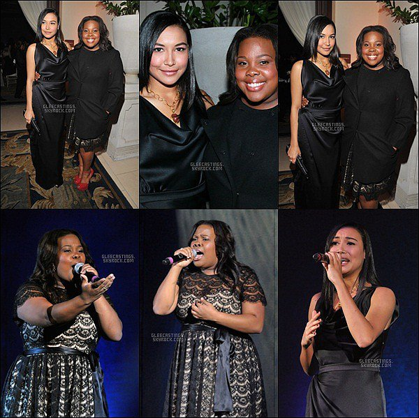 18/11/2011 - Amber et Naya au gala Celebration of Dreams par la Dream Foundation.