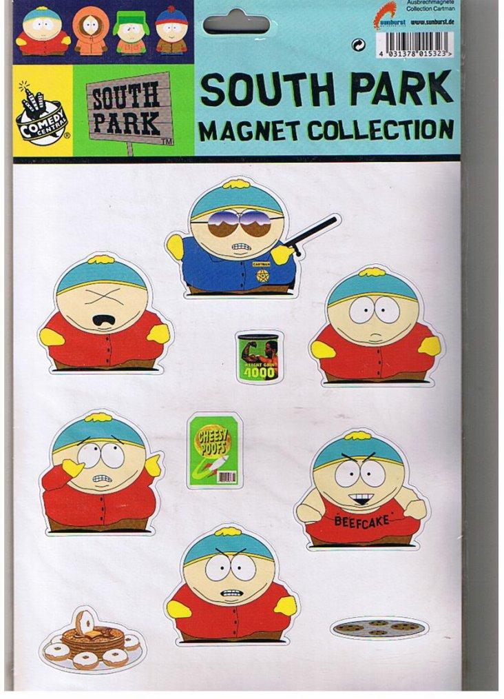 Magnets dispo pour échange : KIRI, DUC, SOUTH PARK, VITTEL, CONTREX
