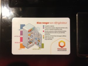Magnets dispo pour échange : Harmonie Mutuelle, Yves Rocher, Coca cola, Buitoni .....