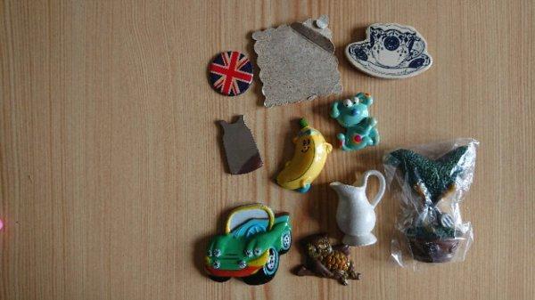 Magnets à échanger contre magnet, pin's ou badge