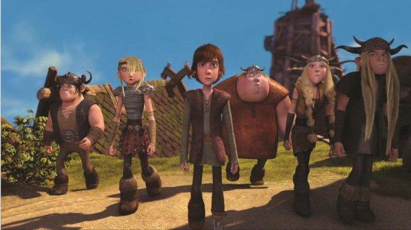 Harold et les cavaliers de Beurk (Dessin Animé) saison 1 trouvable que sur Netflix