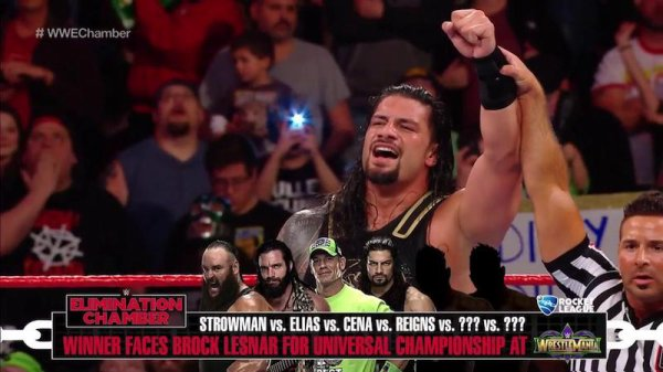 ELIMINATION CHAMBER 2018 + MES NOTES