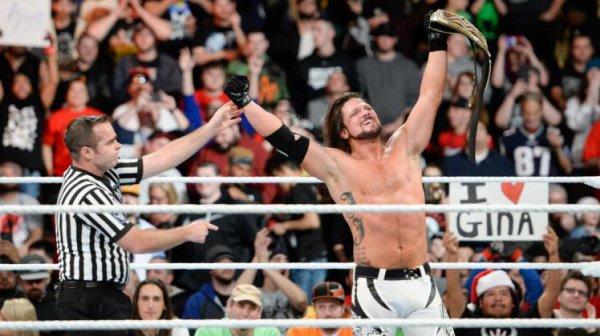 WWE FASTLANE 2018 + MES NOTES