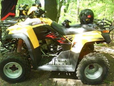 quad(masai 450)
