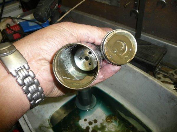 Reconditionnement des amortisseurs fournales toutes les etapes en photos
