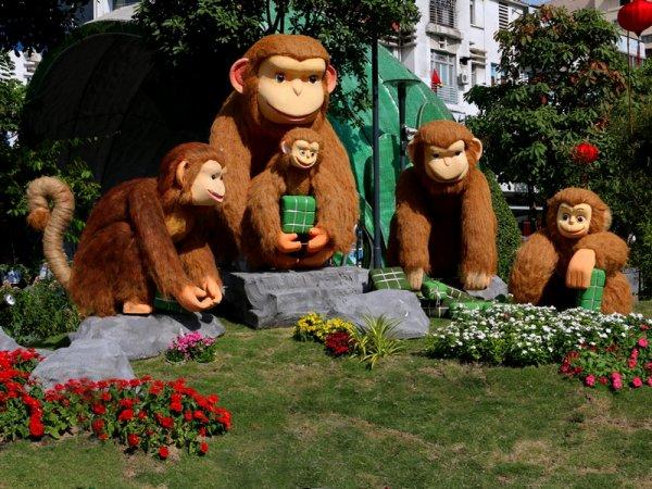 La fête au Con Khỉ.