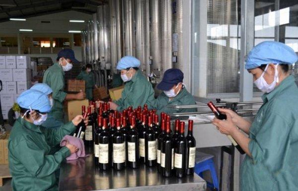 Le vin au Việt Nam.