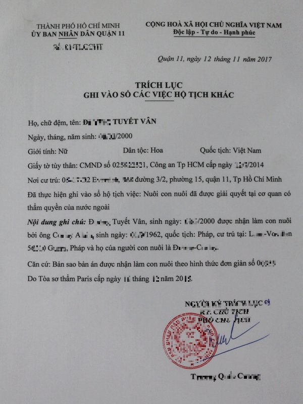 Nouvelle vietnatonne.
