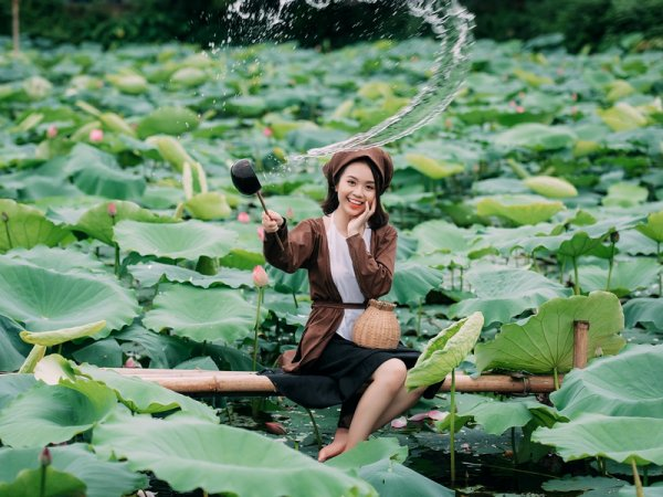 Fleurs de l'Hồ-tus.