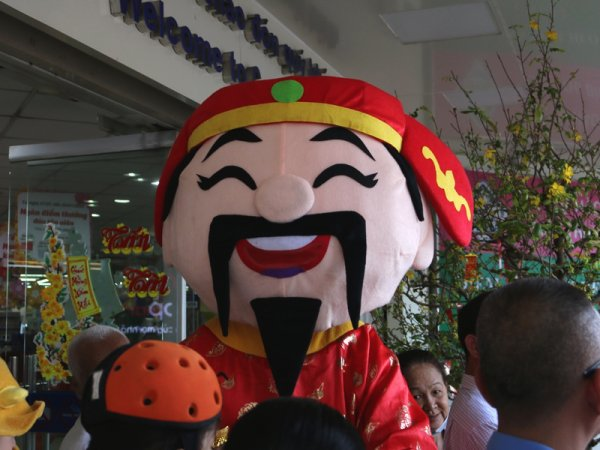 Ce n'est pourtant pas Hall'Hồ-ween.