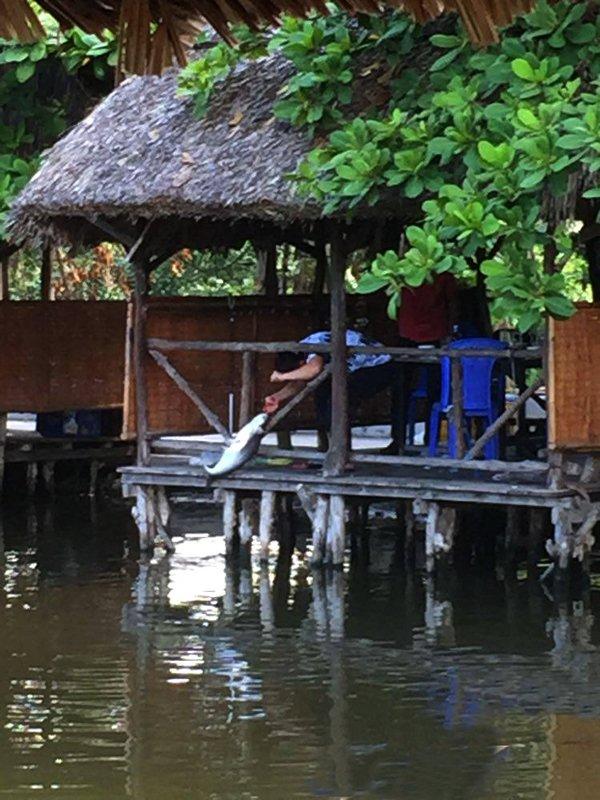L'aventure est parfois Hồ milieu du chemin.