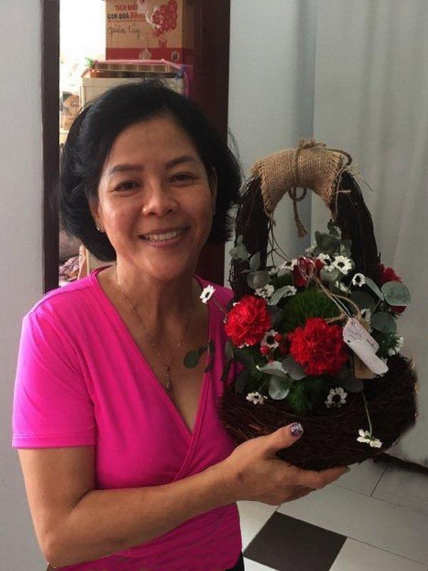 J'Hồ-lies fleurs.