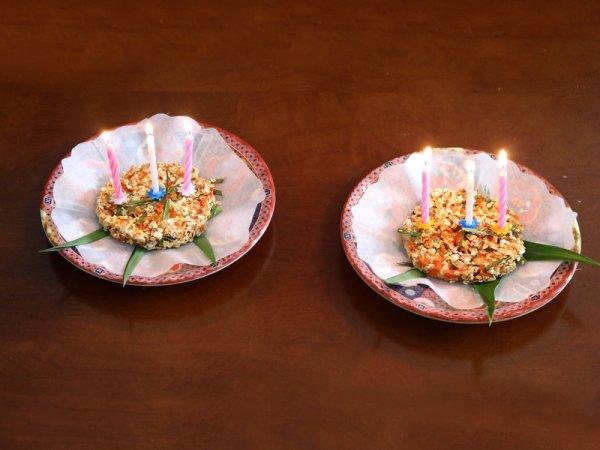 Gât'Hồ d'anniversaire.