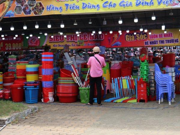 Un tour Hồ marché de Phú Thọ.