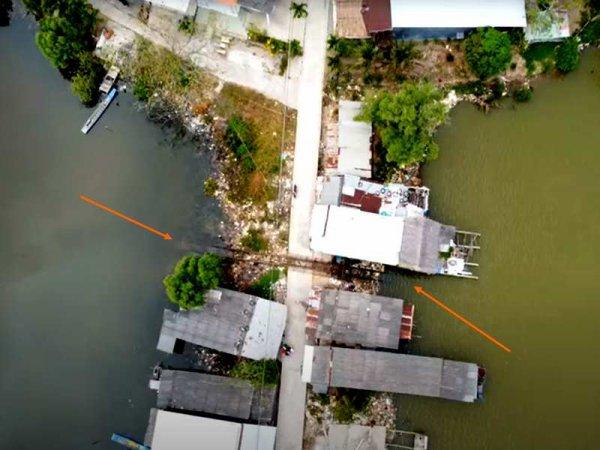Bat'Hồ sur l'eau.
