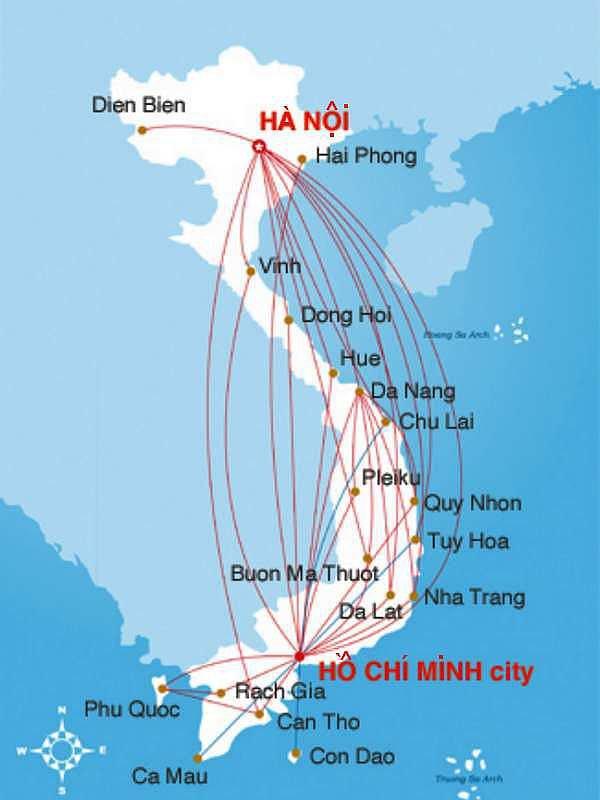 Différences d'Hồ-pinions.