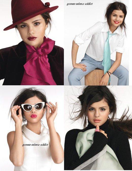 """Photoshoot de selena pour le magasine """"Glamour"""""""