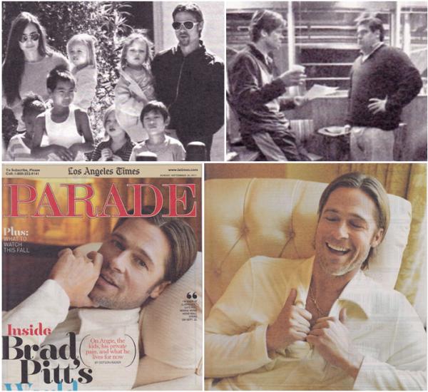 Parade Magazine 18 septembre 2011