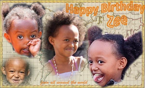 Bon anniversaire Zahara