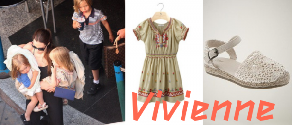 Get The JP Look Vivienne Marcheline Jolie-Pitt