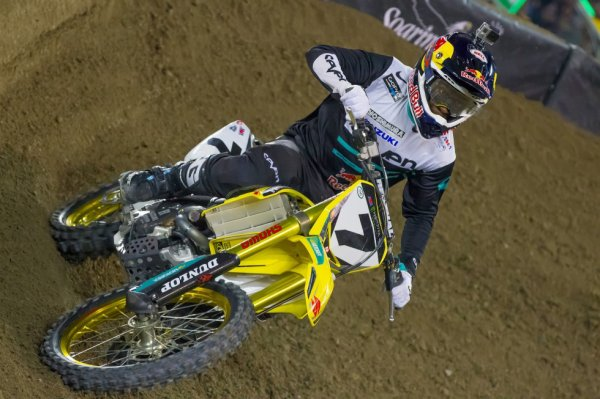 Team Suzuki Racing.  James Stewart