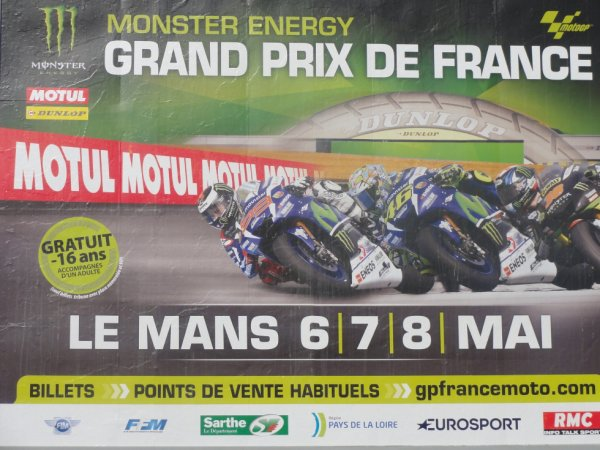 G.P. de France Moto 2016