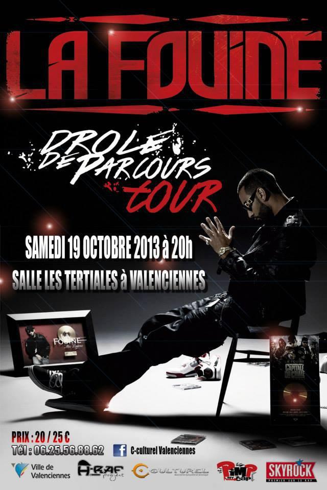 Concert De La Fouine ( DROLE DE PARCOURS. )