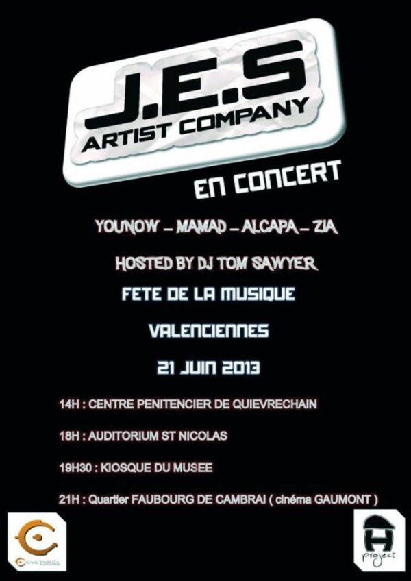 J.E.S En Concert !!