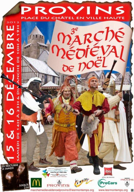 le 17 novembre chez les riders ghost,15& 16 décembre marché medieval de noel a provins